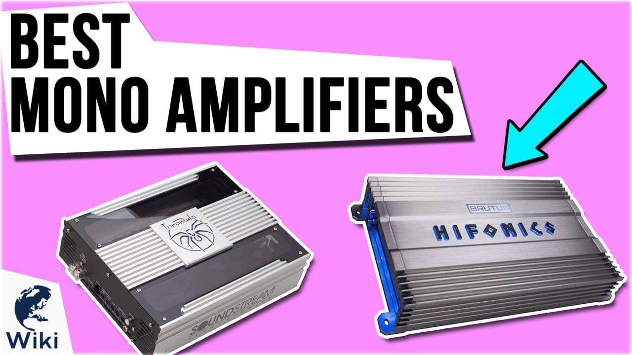 10 Best Mono Amplifiers