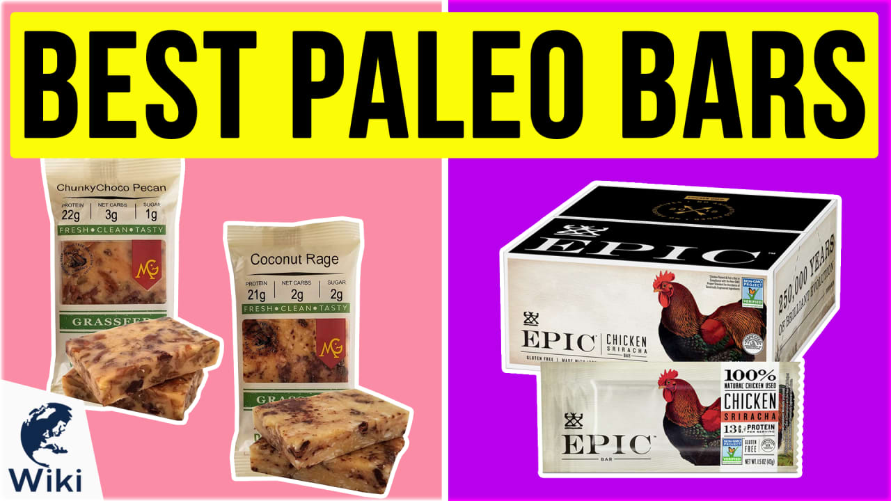 10 Best Paleo Bars