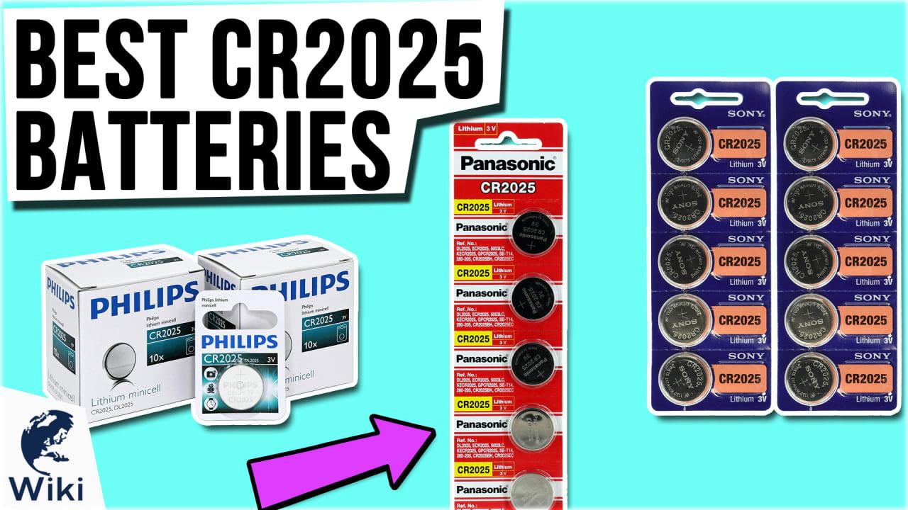 8 Best CR2025 Batteries