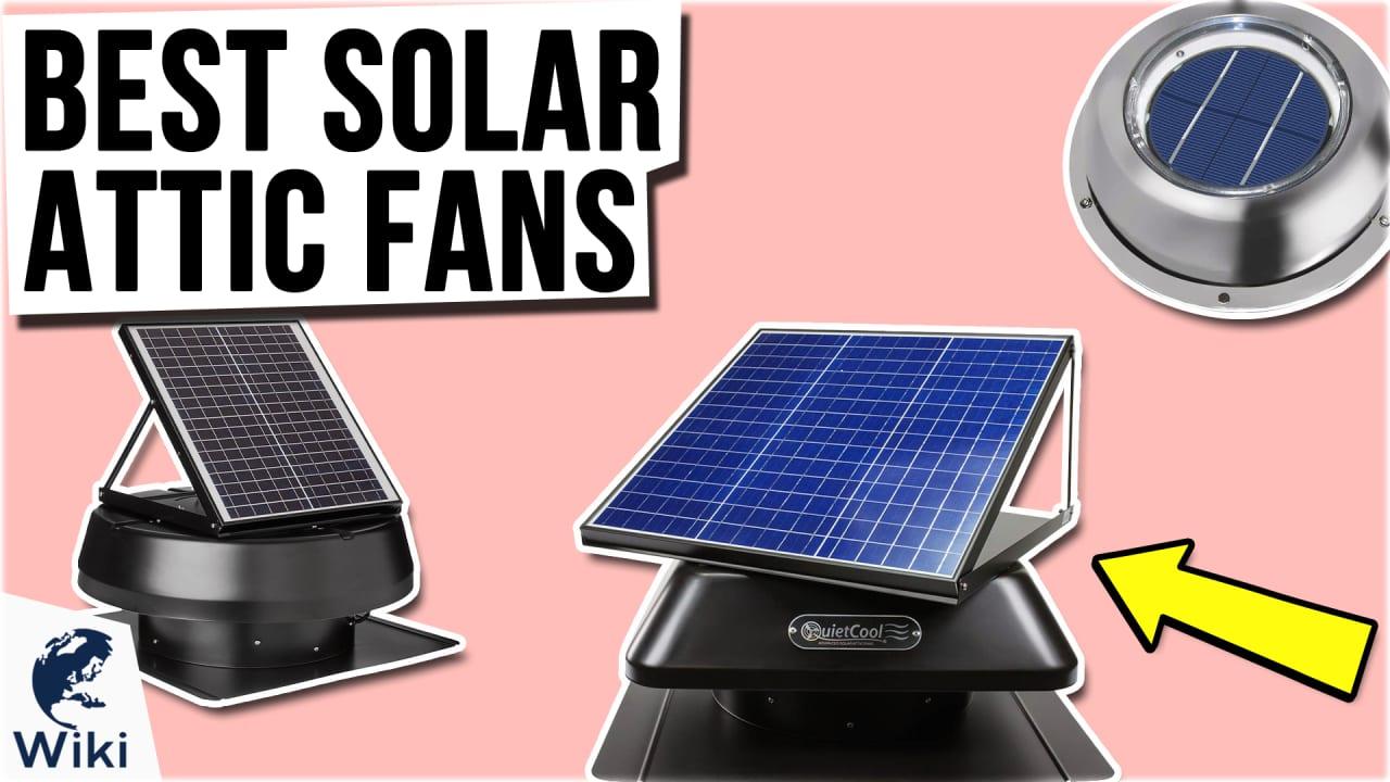 8 Best Solar Attic Fans