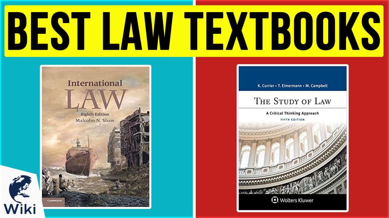 10 Best Law Textbooks