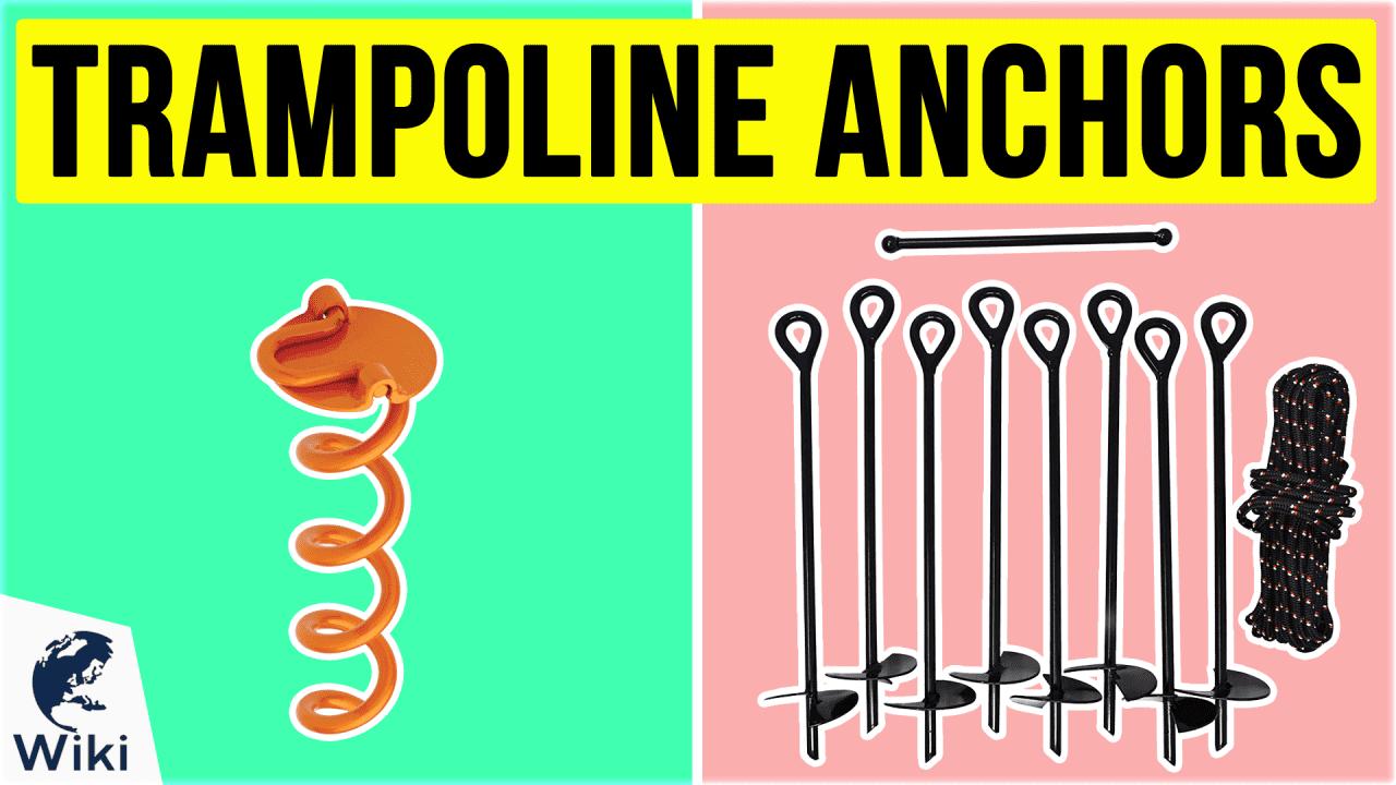 9 Best Trampoline Anchors