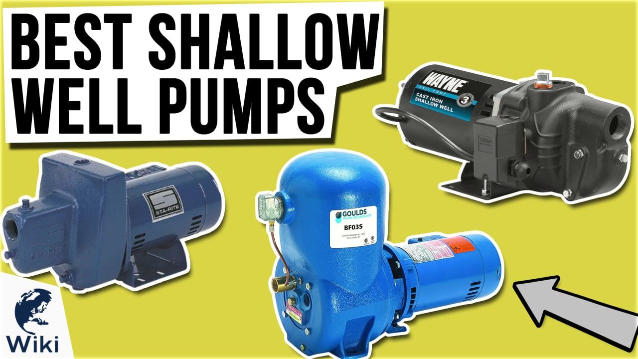 8 Best Shallow Well Pumps