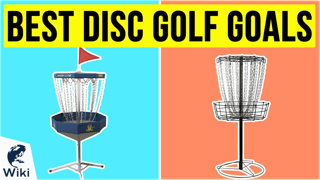 10 Best Disc Golf Goals