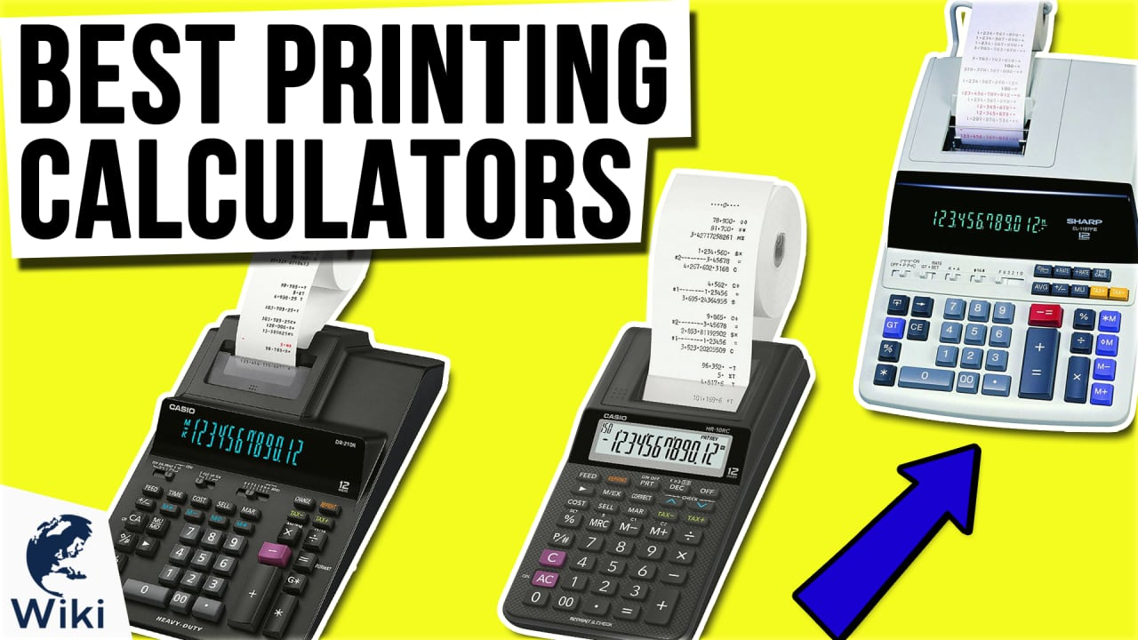 10 Best Printing Calculators
