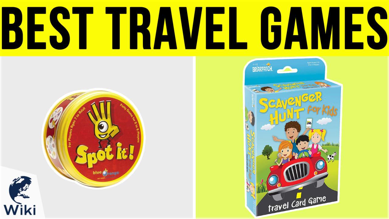 10 Best Travel Games