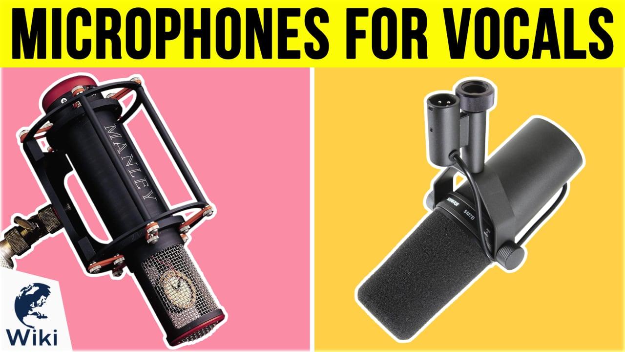 10 Best Microphones For Vocals