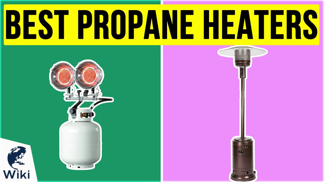 10 Best Propane Heaters