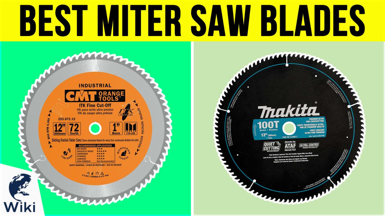 10 Best Miter Saw Blades