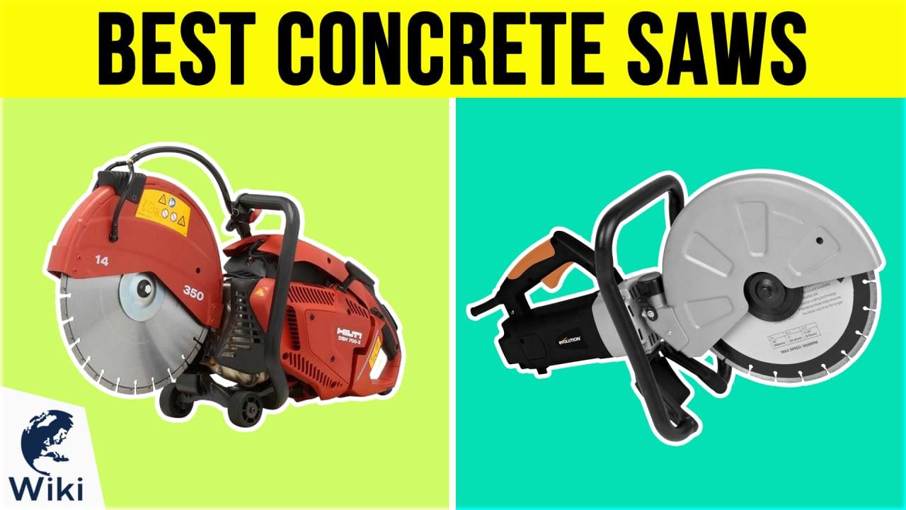 8 Best Concrete Saws