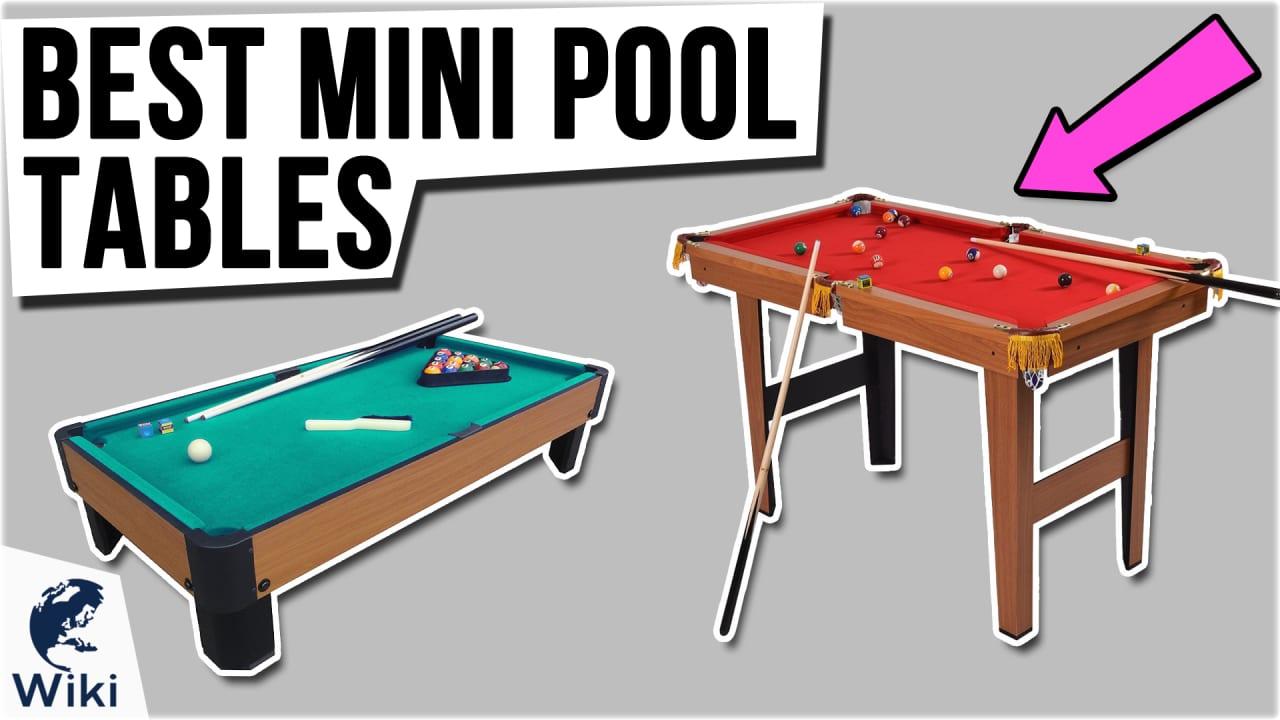 10 Best Mini Pool Tables