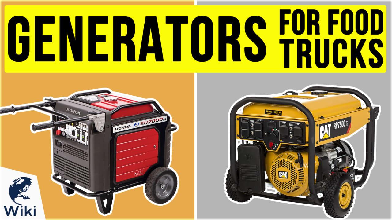 10 Best Generators For Food Trucks