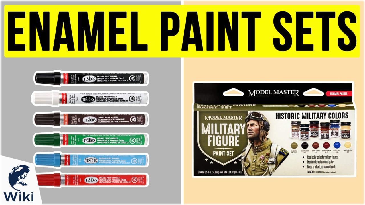 10 Best Enamel Paint Sets