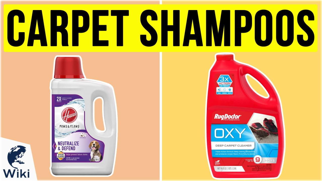 10 Best Carpet Shampoos