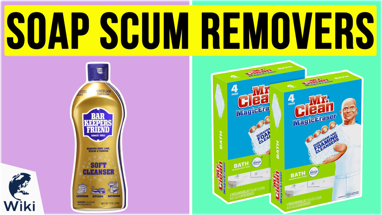 10 Best Soap Scum Removers