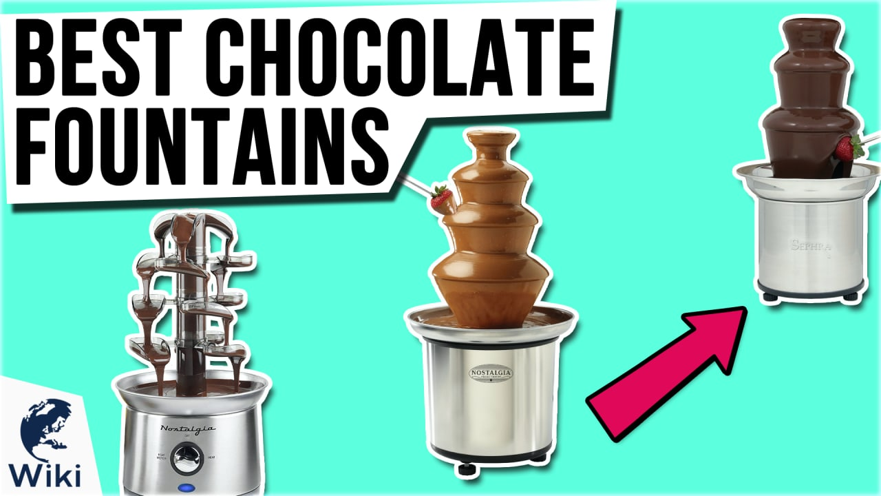 8 Best Chocolate Fountains