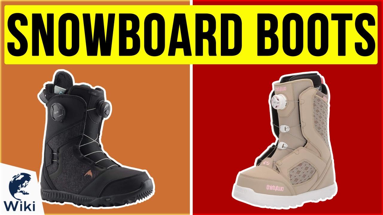 10 Best Snowboard Boots