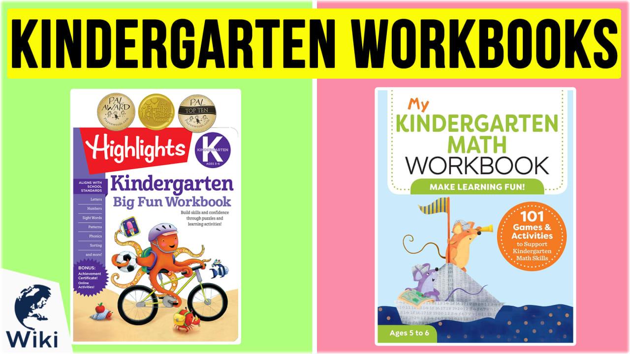 10 Best Kindergarten Workbooks