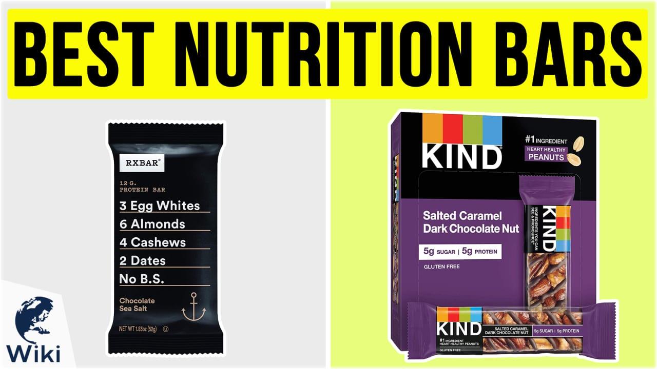 10 Best Nutrition Bars
