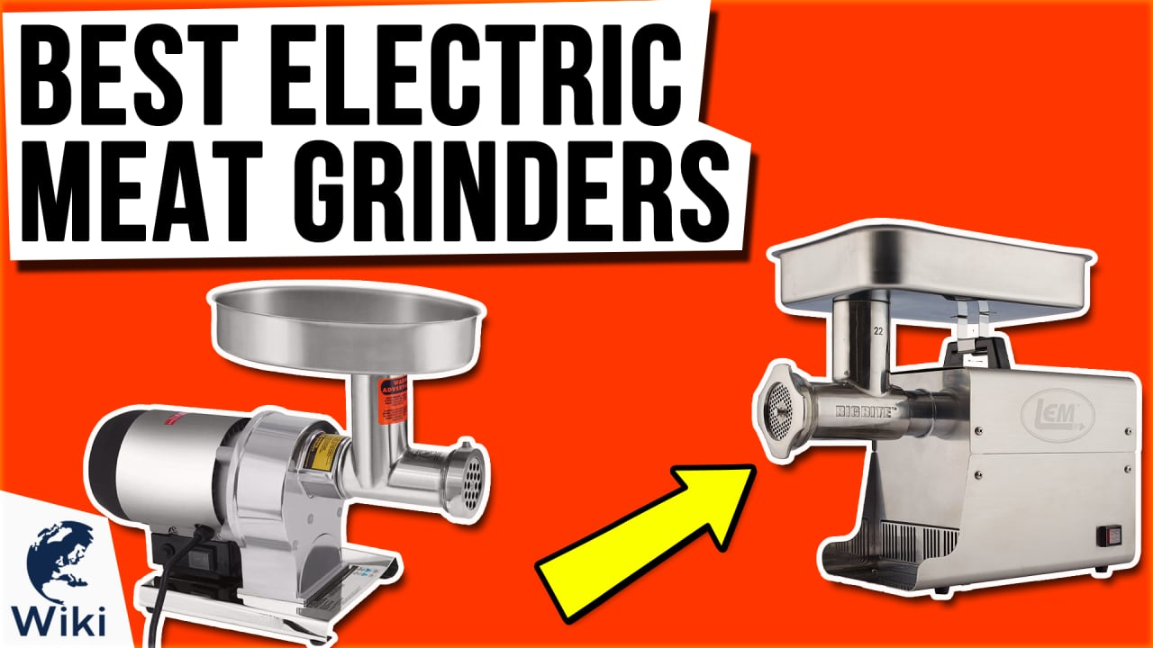 7 Best Electric Meat Grinders