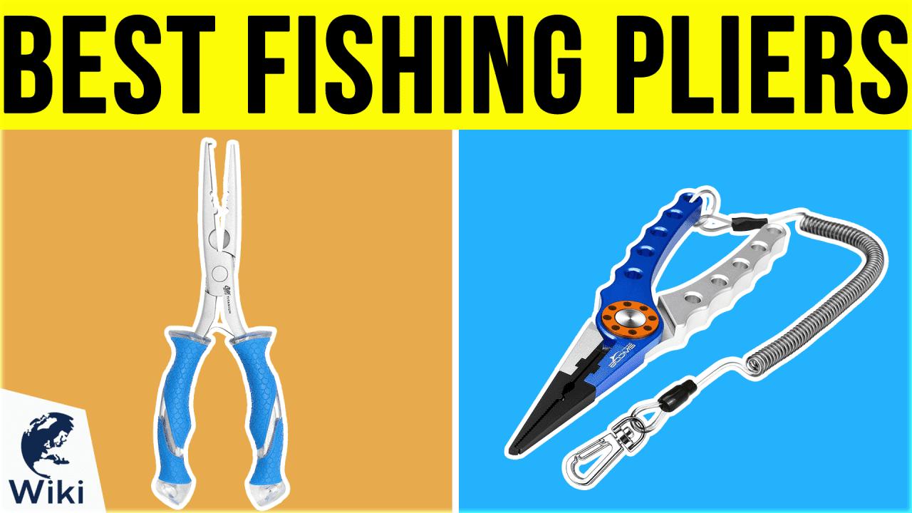 10 Best Fishing Pliers