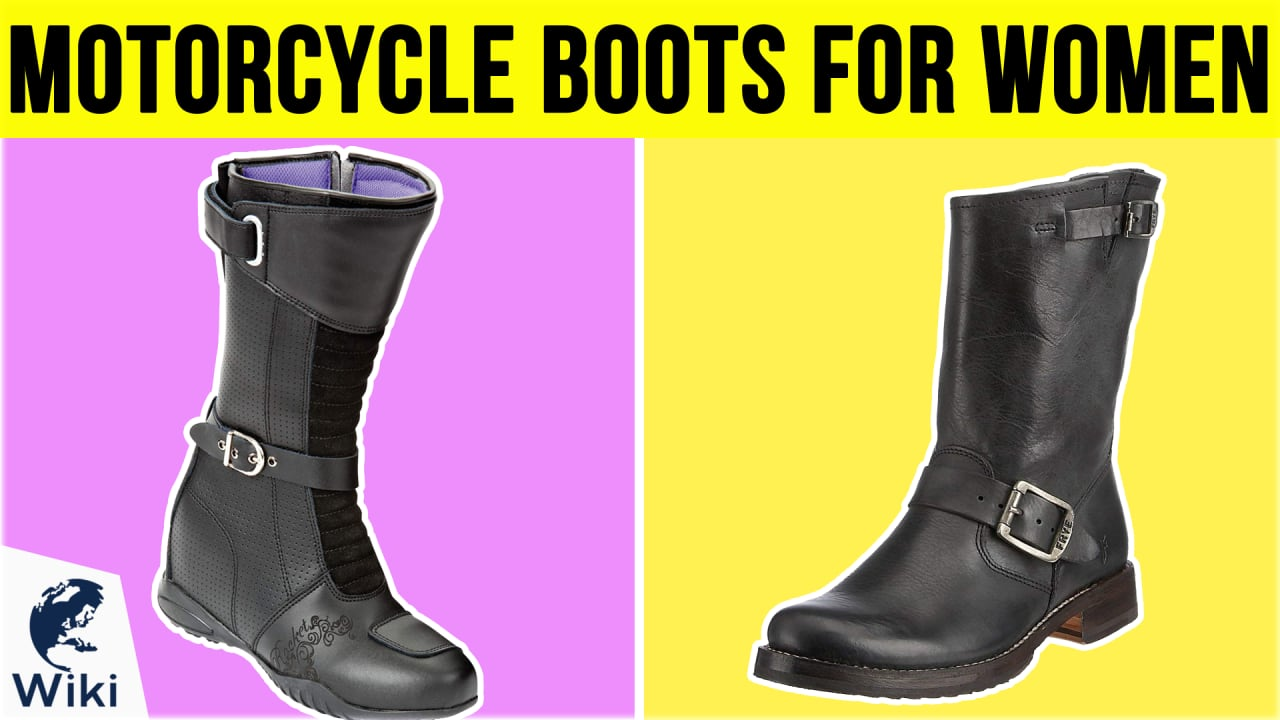 10 Best Motorcycle Boots For Women