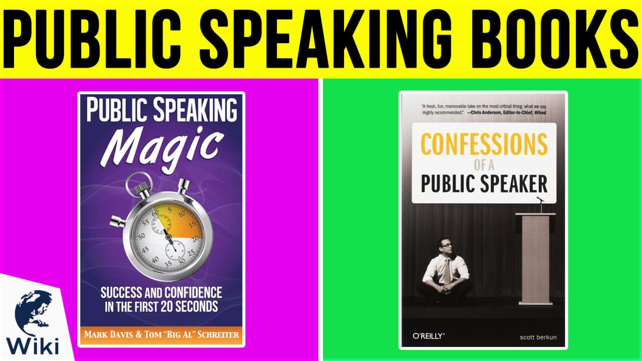 10 Best Public Speaking Books