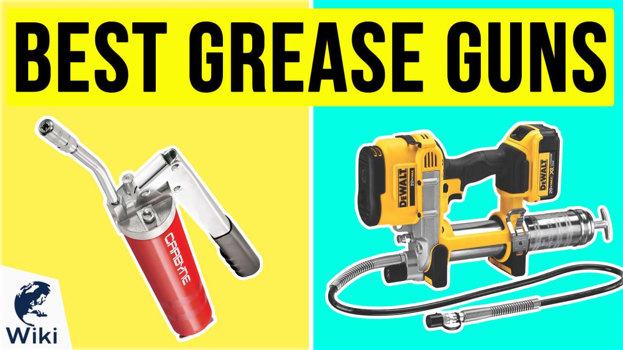 10 Best Grease Guns