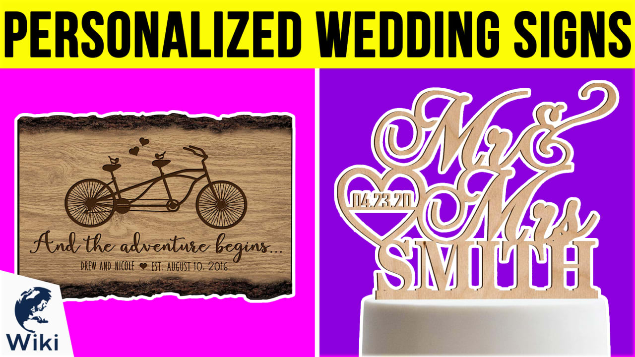 10 Best Personalized Wedding Signs
