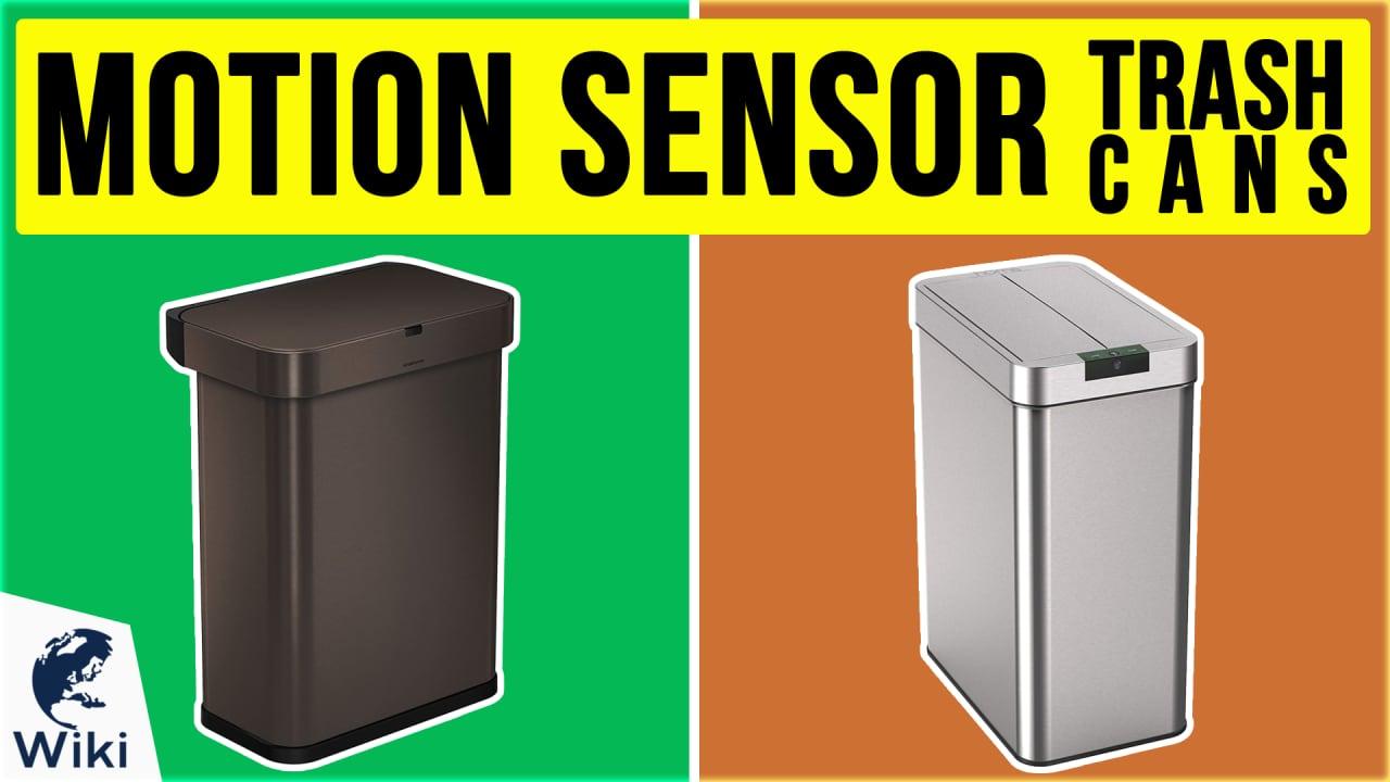 10 Best Motion Sensor Trash Cans