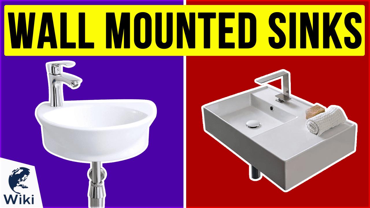 10 Best Wall Mounted Sinks