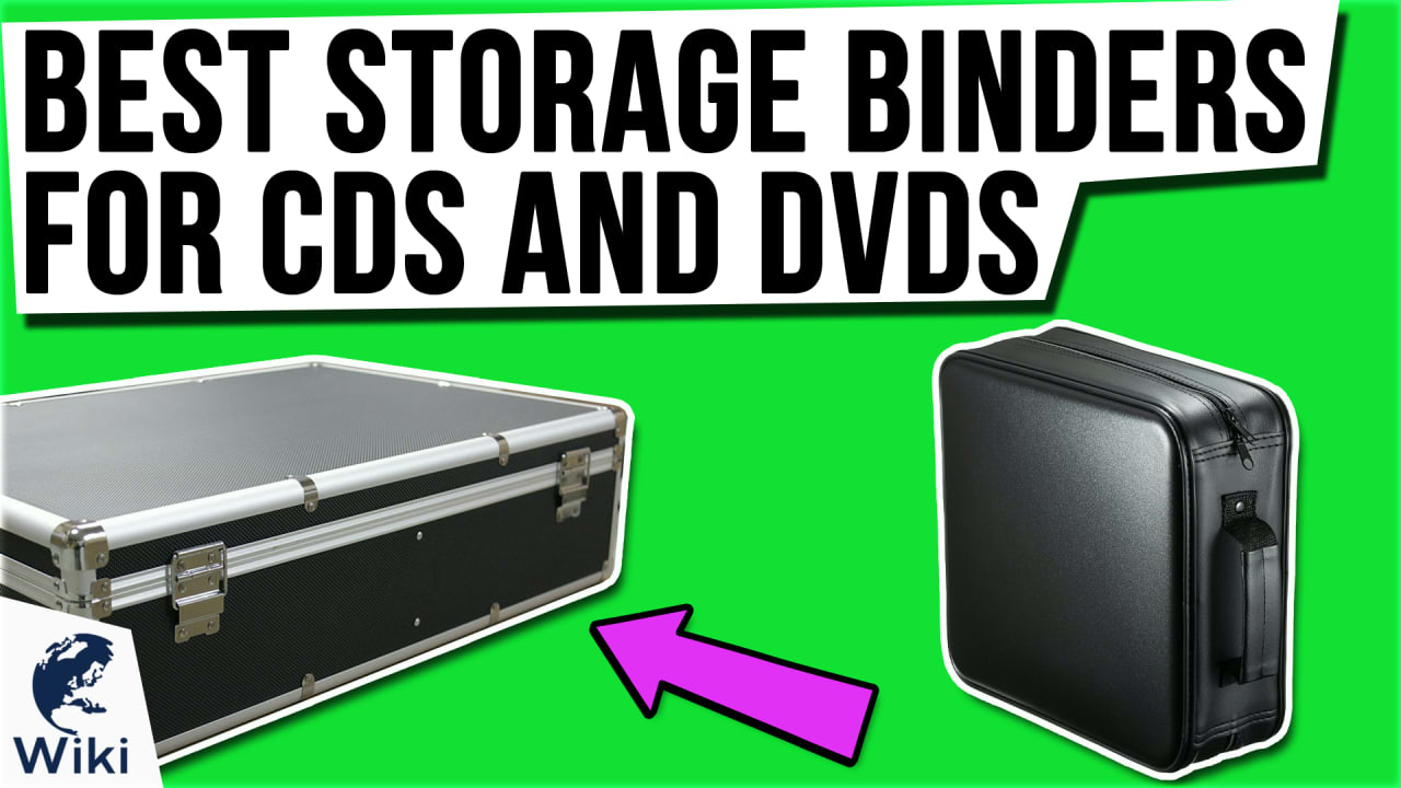 10 Best Storage Binders For CDs and DVDs