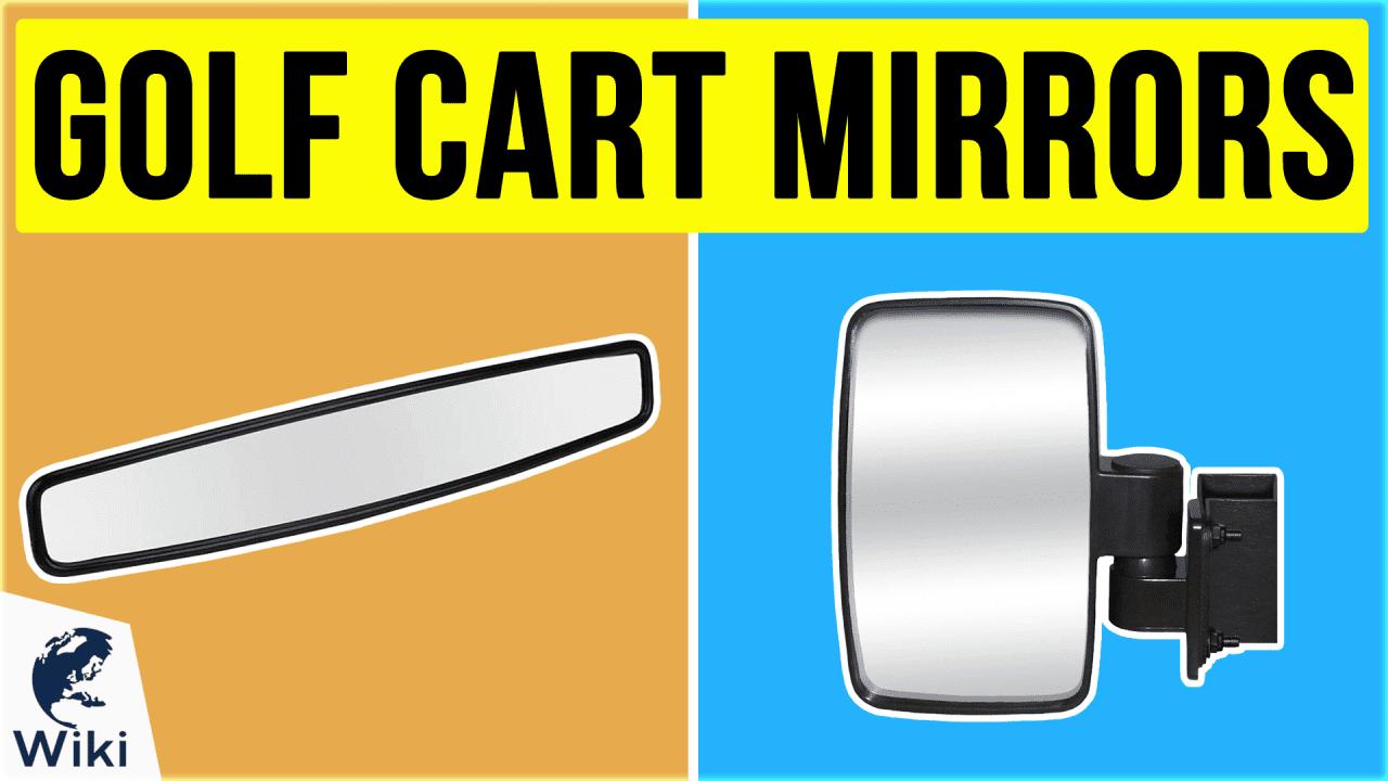 10 Best Golf Cart Mirrors