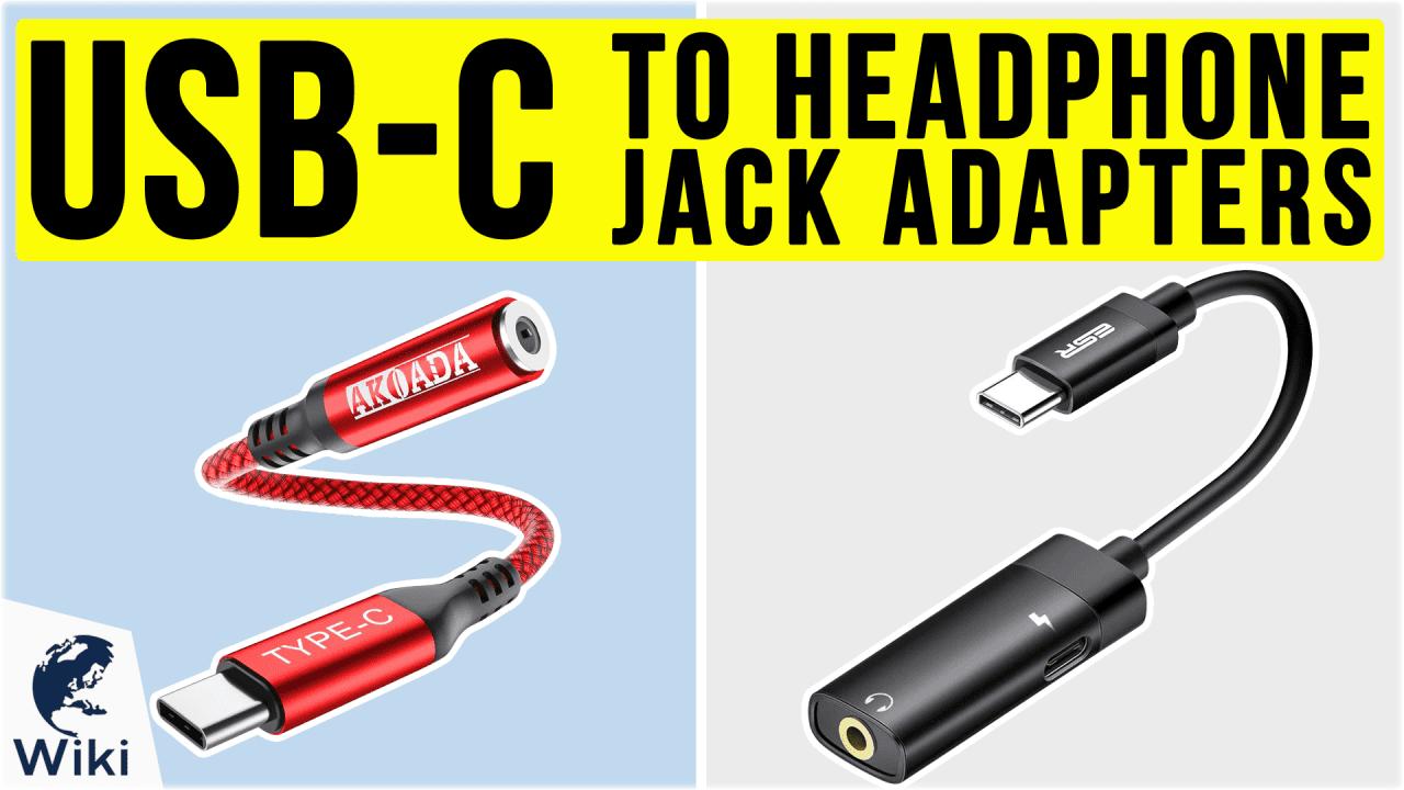 10 Best USB-C To Headphone Jack Adapters