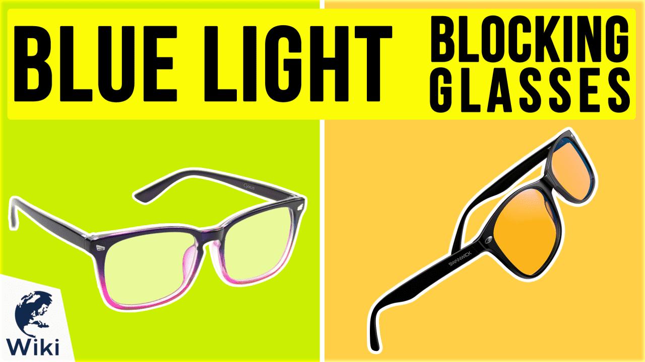 10 Best Blue Light Blocking Glasses