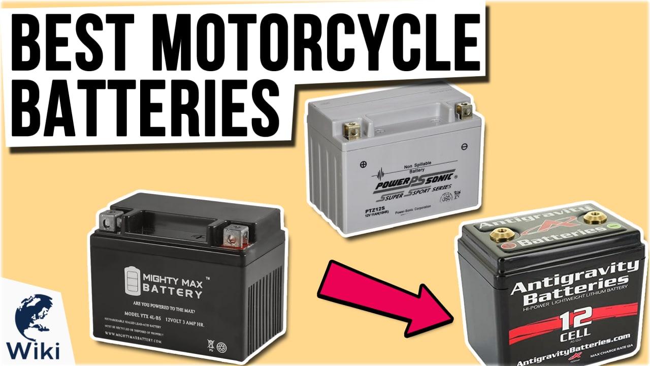 10 Best Motorcycle Batteries