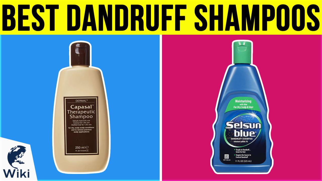 10 Best Dandruff Shampoos