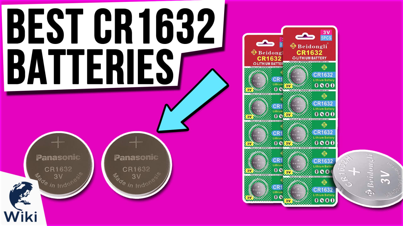 8 Best CR1632 Batteries