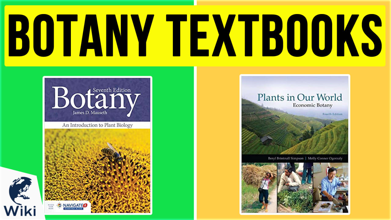 10 Best Botany Textbooks