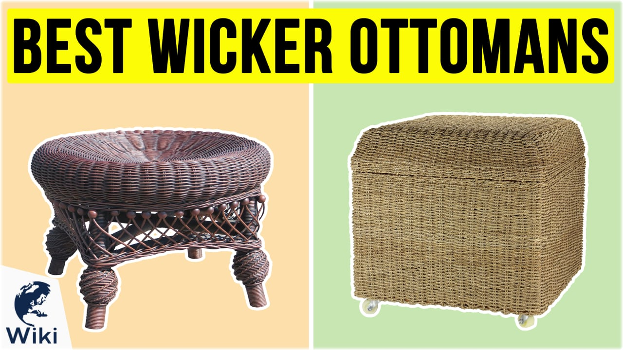 10 Best Wicker Ottomans