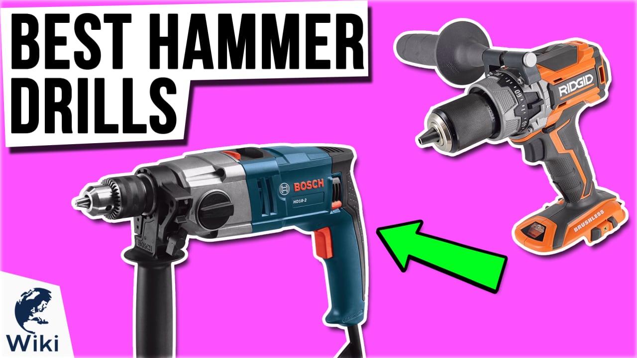 10 Best Hammer Drills