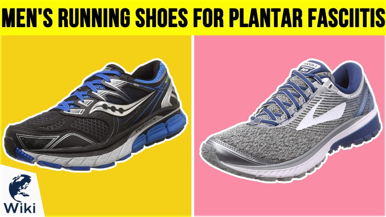10 Best Men's Running Shoes For Plantar Fasciitis
