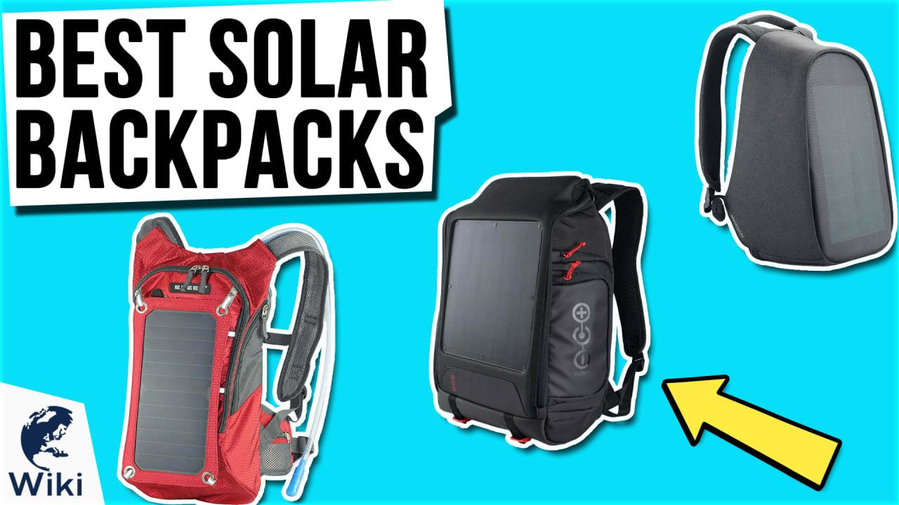 10 Best Solar Backpacks