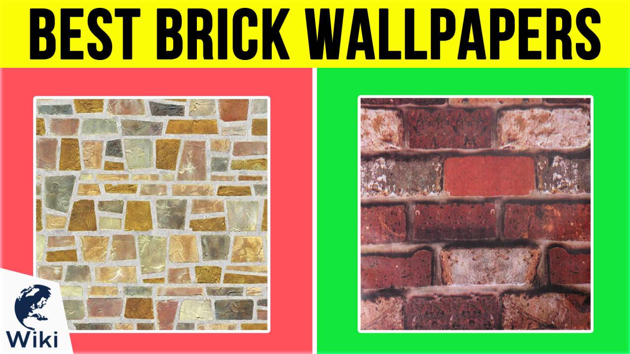 10 Best Brick Wallpapers
