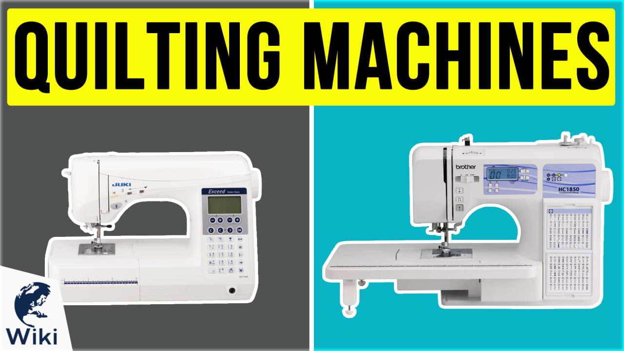 10 Best Quilting Machines