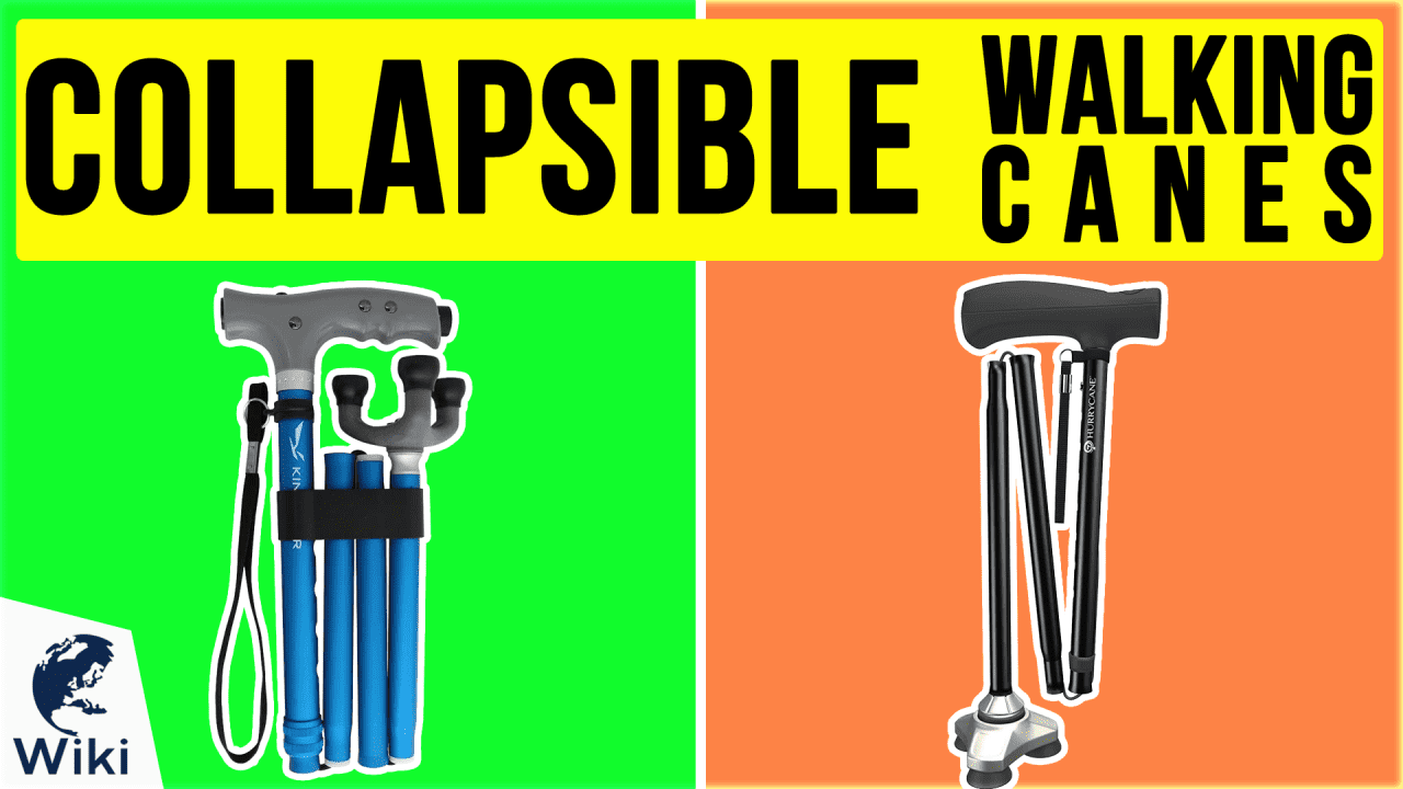 10 Best Collapsible Walking Canes