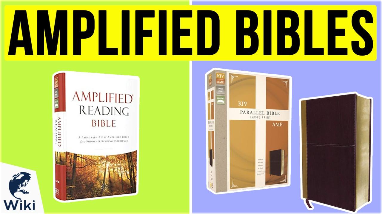 10 Best Amplified Bibles