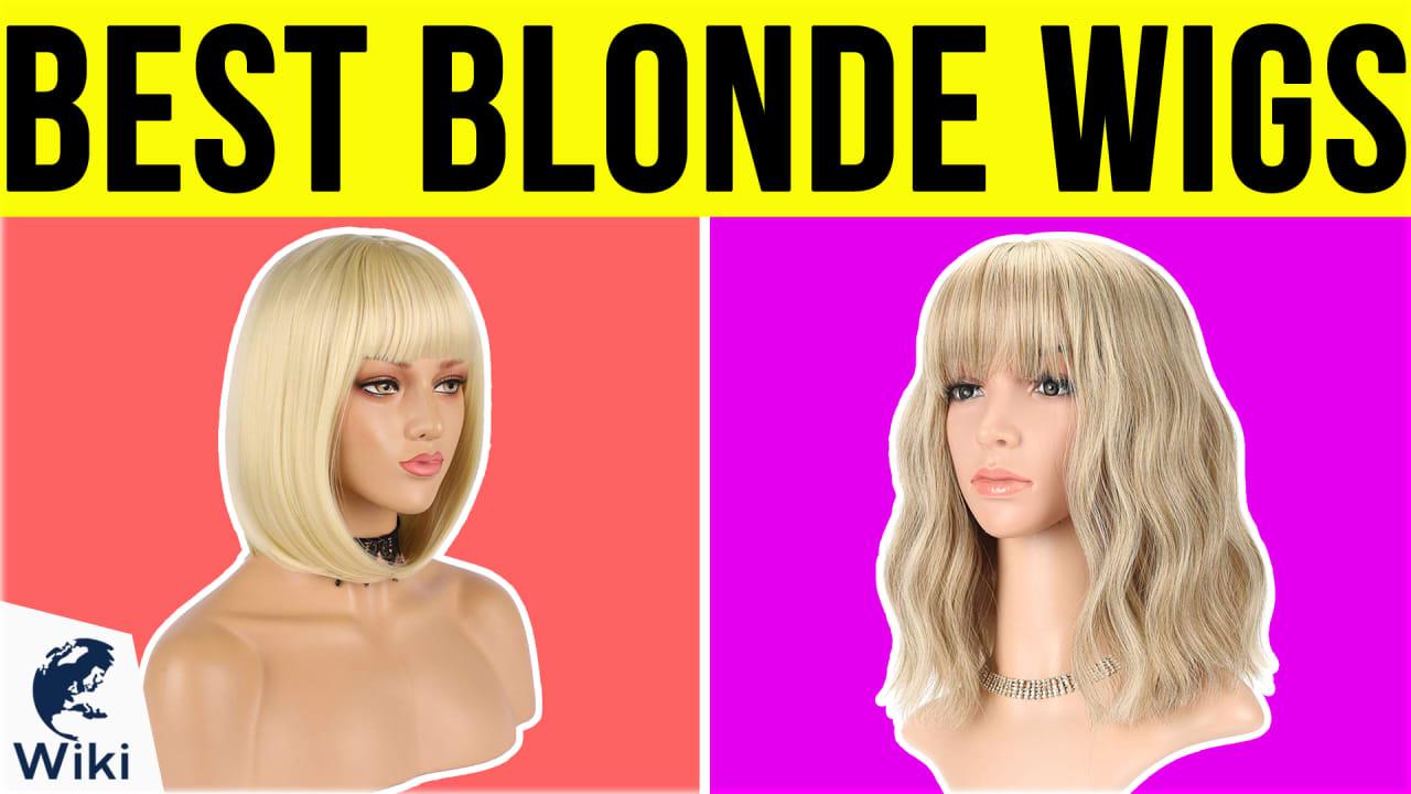 10 Best Blonde Wigs