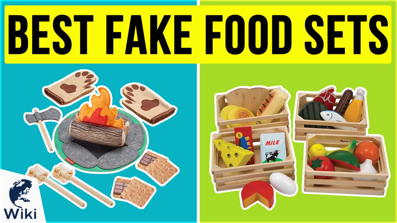 10 Best Fake Food Sets