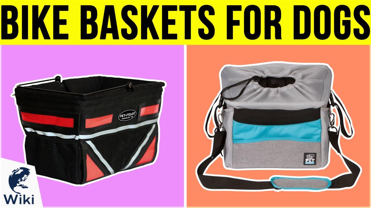 10 Best Bike Baskets For Dogs